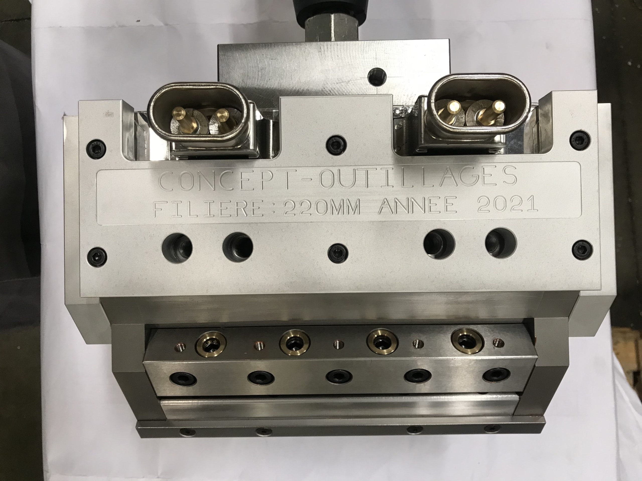 Tooling for plastic extrusion